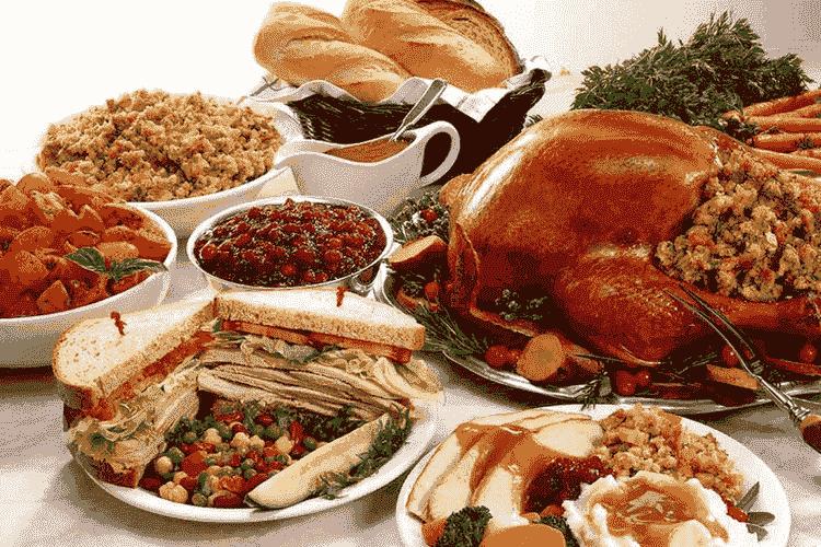 Thanksgiving American Menu