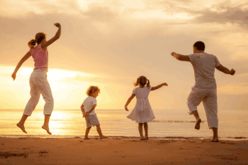 Positive health benefits while traveling