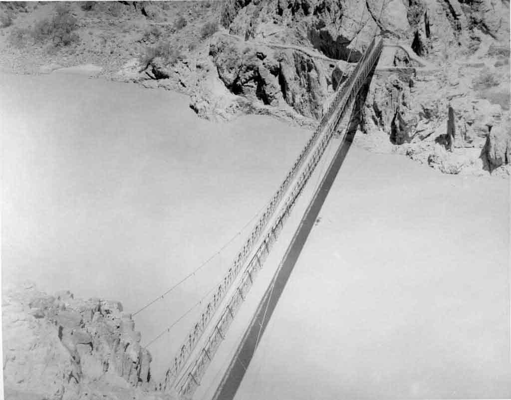 Black Suspension Bridge Grand Canyon