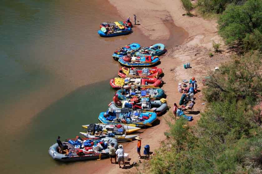 River Rafting in Grand Canyon